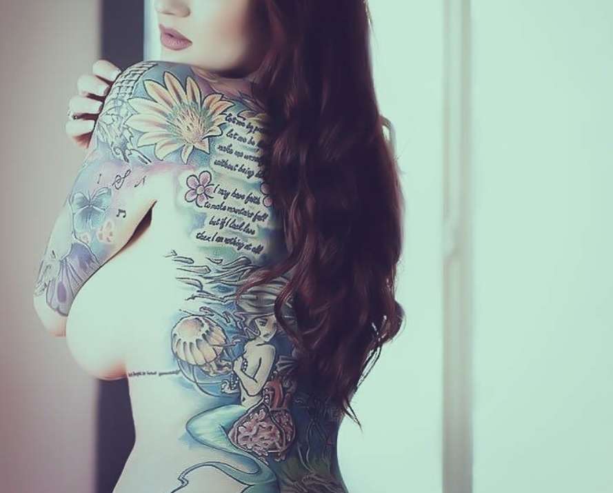 women tattoo